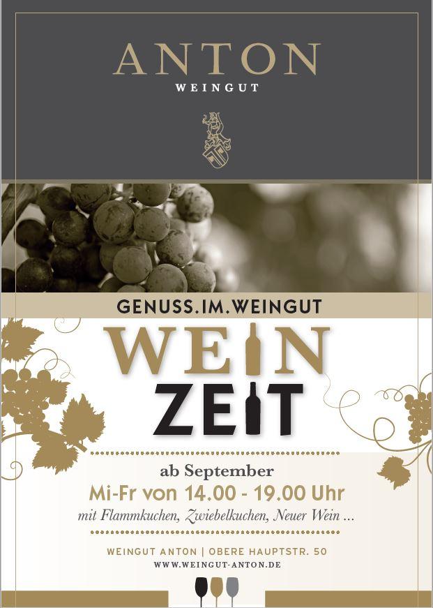 WeinZeit, Gutsausschank im Weingut Anton